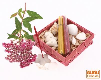 Räucher Geschenkset mit Räucherstäbchenhaltern - Citronella Amber