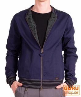 Jacke aus Bio-Baumwolle / Chapati Design - navy
