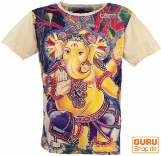 Mirror T-Shirt - Ganesh / vanille