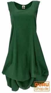 Langes wandelbares Sommerkleid, Boho Maxikleid - grün