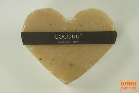 Seifenset Heart on the Rock, 75 g Seife auf Bimsstein, Fair Trade - Kokosnuss - Vorschau 3