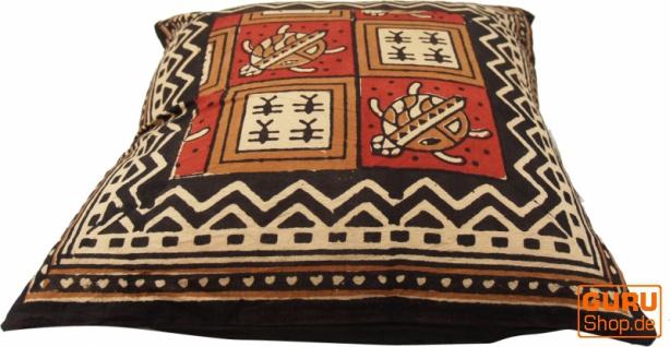 Kissenbezug Blockdruck, Dekokissen Bezug, Kissenhülle Ethno, Traditionelle Herstellung - Muster 24 - Vorschau 2