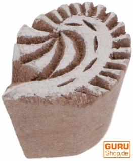 Indischer Textilstempel, Holz Stoffdruckstempel, Blaudruck Stempel, Druck Modell - 2, 5*2 cm Paisley 3