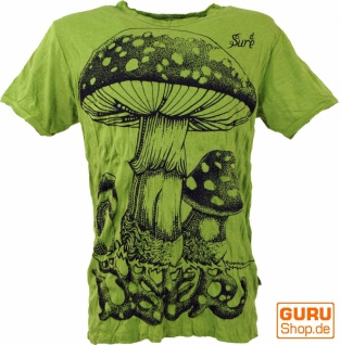 Sure T-Shirt Fliegenpilz - lemon