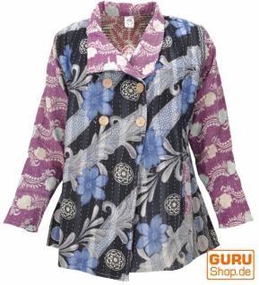 Indische Boho Patchworkjacke Jacke, Upcyceling Jacke Größe L - Modell 2