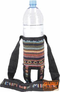 Wasserflaschen Tasche, Flaschenhalter Ethno - Modell 5