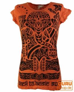 Sure T-Shirt Tribal Ganesha - orange