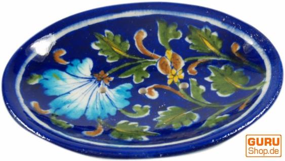 Handbemalte Keramikseifenschale Nr. 6