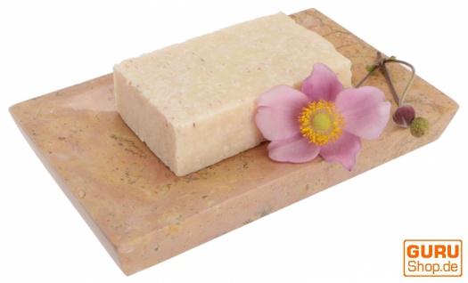 Handgemachte Duftseife mit Himalayasalz, 100 g Fair Trade - Pink Sweet - Vorschau 3