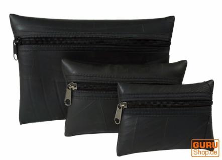 Upcyceling Taschen Portemonnaise IPad - Hülle aus Autoschläuchen