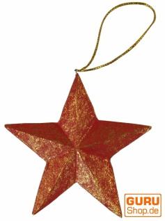 Weihnachtsbaum Stern, Baumbehang in 2 Farben