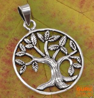 Silberanhänger Baum des Lebens, Tree of Life Talisman - Model 10