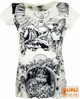 Sure T-Shirt Meditation Thai Buddha - weiß