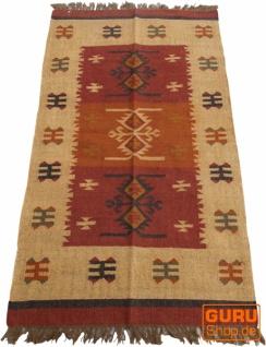 Orientalischer grob gewebter Kelim Teppich 160*90 cm - Muster 6