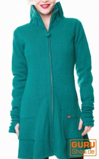 Kurzmantel aus Merino-Wolle / Chapati Design - b.green