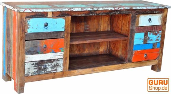 Massive Vintage Kommode, Highboard, Sideboard, Flurschrank - Modell 24