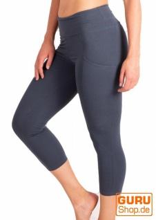 Leggings aus Bio-Baumwolle / Chapati Design - orion blue