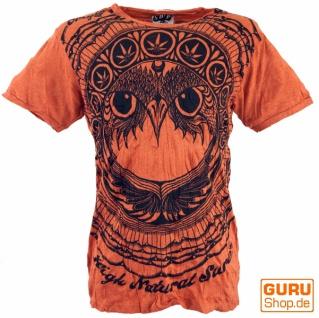 Sure T-Shirt Eule - rostorange