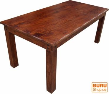 Esstisch mit runden Kanten ohne Beschlag R509 dunkel - Modell 3