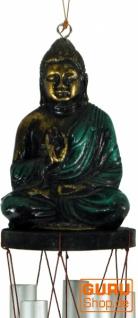 Klangspiel mit Buddha - grün