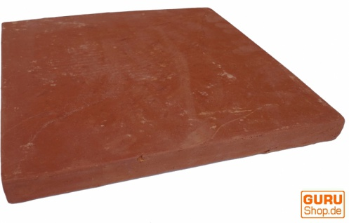 Handgemachte Terracotta Fliesen 30*30cm 1 Paket = 8 Fliesen bzw 0.72 m² - Vorschau 4