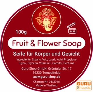 Handgeformte `Fruit & Flower` Seife - Granatapfel - Vorschau 2