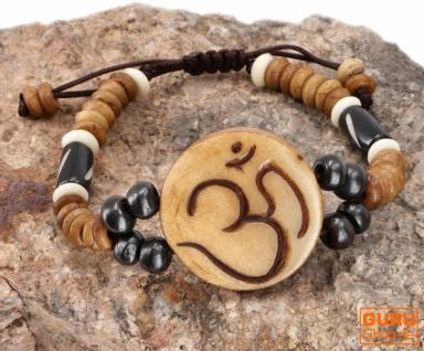 Tibet Armband, buddhistisches Armband, Ethno Tribal Schmuck - Model 1