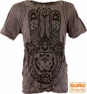 Sure T-Shirt Fatimas Hand - taupe