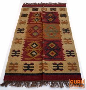 Orientalischer grob gewebter Kelim Teppich 160*90 cm - Muster 5