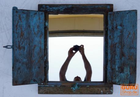 Antiker Spiegel aus altem Fenster gefertigt - Modell 10