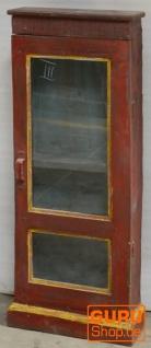 Glasschrank, Glasvitrine, Küchenschrank - Modell 14