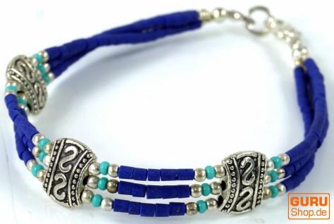 Tibetschmuck Perlenarmband, Ethnoarmband - Modell 4
