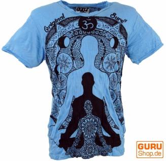 Sure T-Shirt Meditation Buddha - hellblau