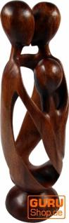 Holzfigur, Statue, Deko Objekt Feng Shui - `Familie`
