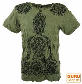 Sure T-Shirt Mandala Buddha - olive