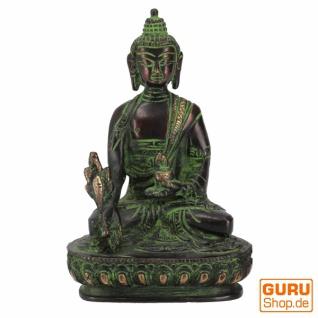 Buddha Statue aus Messing Medizin Buddha 14 cm - Modell 12