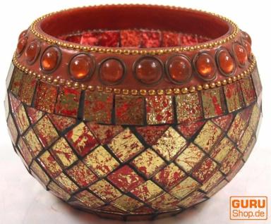 Mosaik Teelichtglas