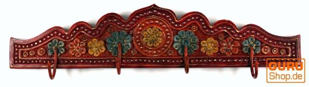 Indische Vintage Hakenleiste, Garderobe - Design 3