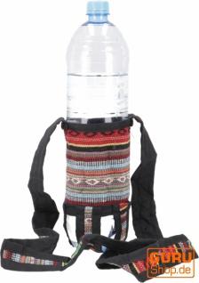 Wasserflaschen Tasche, Flaschenhalter Ethno - Modell 12