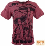 Sure T-Shirt Magic Mushroom - bordeaux