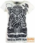 Sure T-Shirt tribal Ganesh - weiß