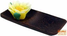 Schale aus Kokosholz, Kokosschale oval - Design 5