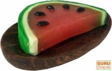 Handgeformte `Fruit & Flower` Seife - Melone