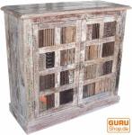 Kommode mit alten Blockdruckstempeln (JH9-103)