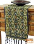 Traditionelles handgewebtes Ikat Tuch, Tischläufer, Tischdecke aus Sumba, 120 x 32cm