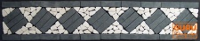 Mosaikfliesen Bordüre - Design 1
