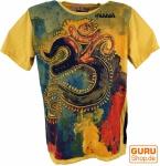 Mirror T-Shirt - OM / gelb