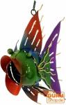 Farbenfroher Dekofisch aus Indonesien - Design 13
