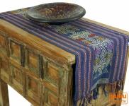 Traditionelles handgewebtes Ikat Tuch, Tischläufer, Tischdecke aus Sumba, 100 x 31cm