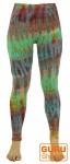 Batik Leggings - grün